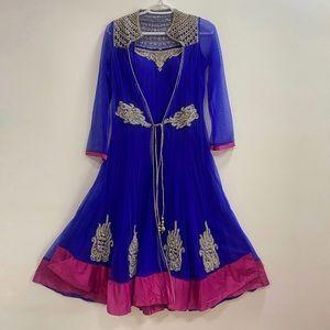 Stone Studded Anarkali Suit